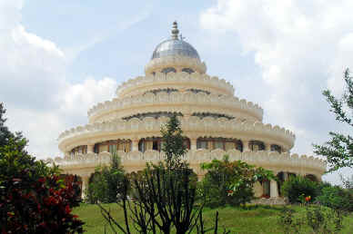 The Art of Living international ashram in Bangalore, India