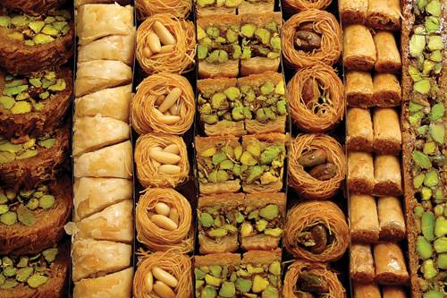 Varieties of baklawa