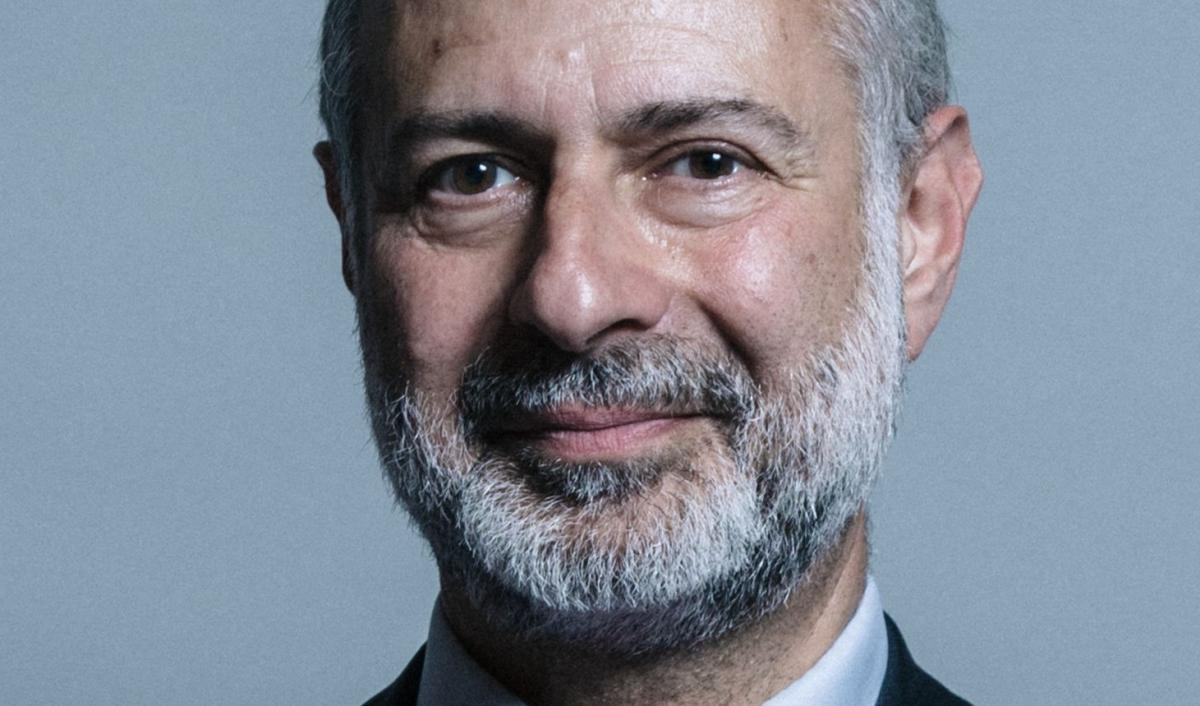 MP Fabian Hamilton: sponsored the meeting on parliament's premises