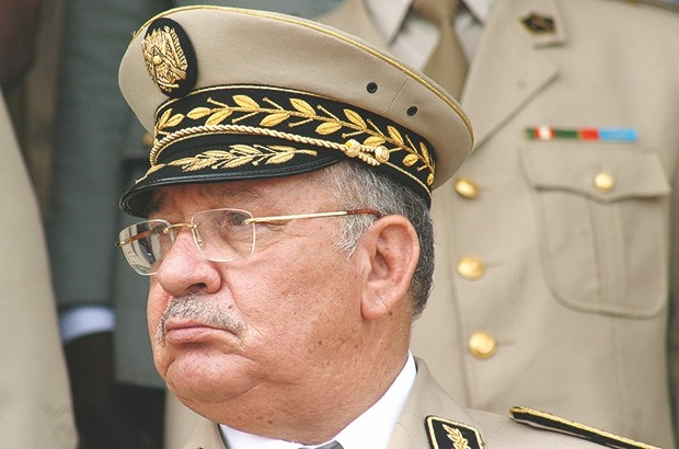 Army chief of staff Gaïd Salah
