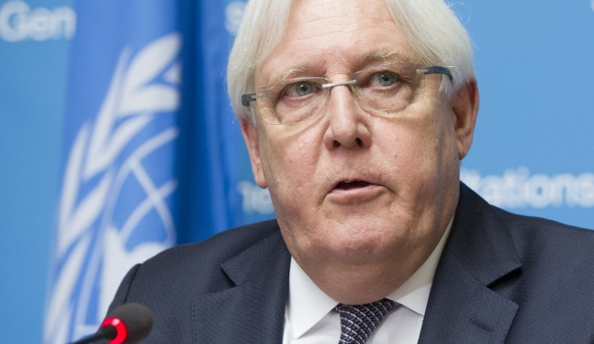 "Special envoy Griffiths: ""A continuation of this current situation is simply untenable."""