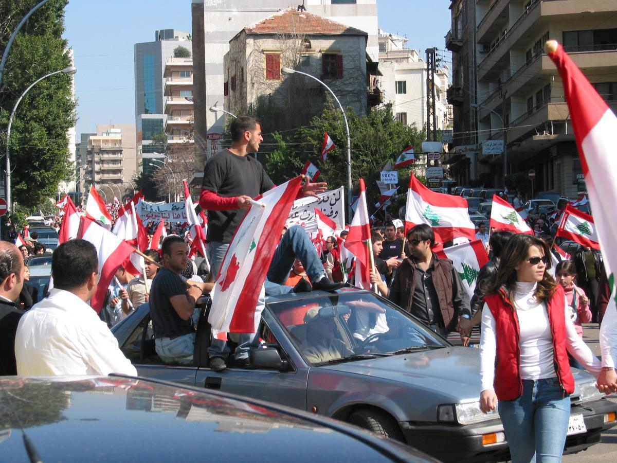 2005: Protests in Lebanon led to Syria withdrawing its troops