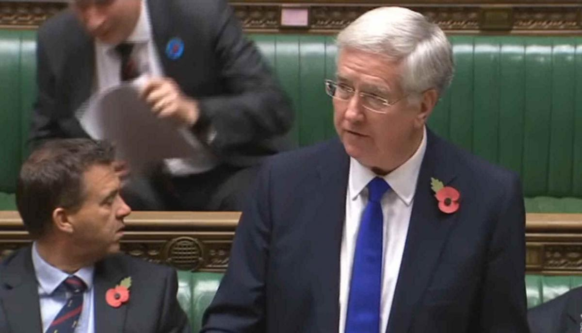 "British defence minister Michael Fallon told parliament: ""The United Kingdom fully supports the coalition and the right of Saudi Arabia to defend itself."""