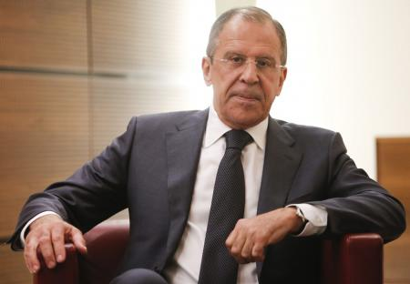Russian foreign minister Lavrov: discredited claim