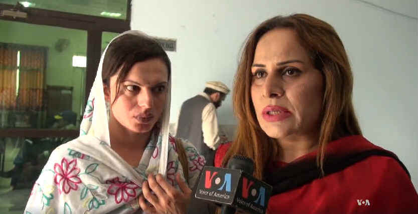 "Activists giving a press conference in Pakistan yesterday. <a href=""https://www.facebook.com/TransActionPak/posts/1494216793923265"">Click for video</a>"