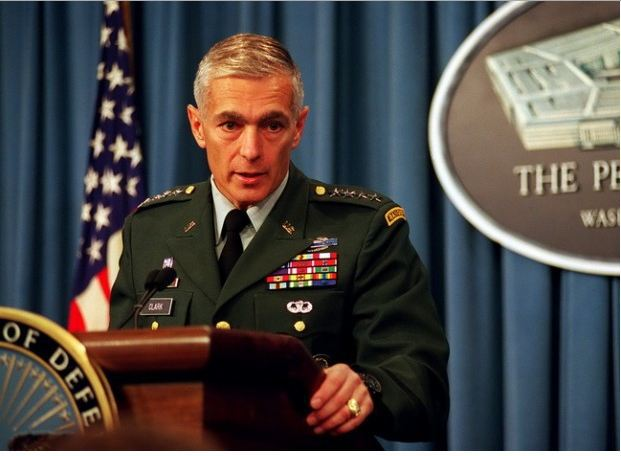 "Wesley Clark: talked of memo threatening to ""take out"" seven countries"