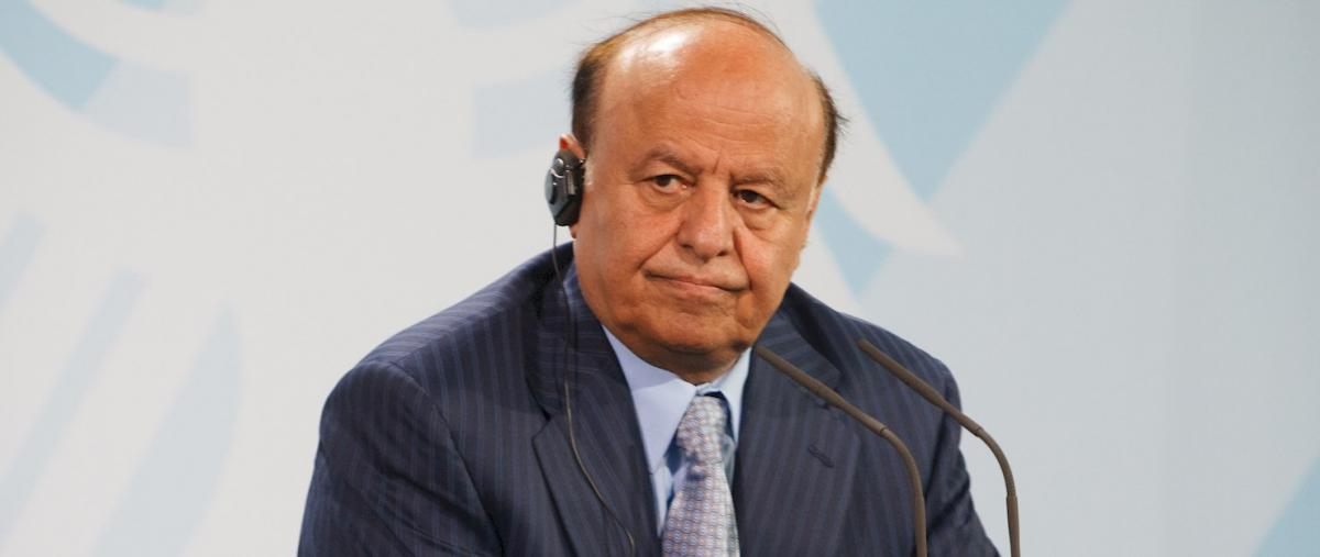 Yemen's not-so-legitimate president, Abd Rabbu Mansour Hadi